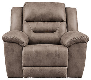 Stoneland Power Recliner, Fossil, large