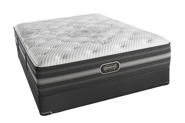 Beautyrest Black Beautyrest Black Desiree Lux Firm Queen Mattress, Black/Gray, large