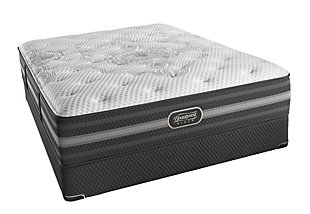 Beautyrest Black Beautyrest Black Desiree Lux Firm King Mattress, Black/Gray, large