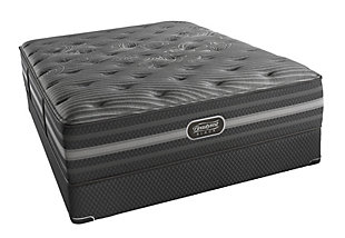Beautyrest Black Beautyrest Black Mariela Plush Queen Mattress, Black/Gray, rollover