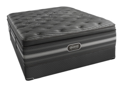 Natasha Plush Pillow Top Full Mattress Black Product Photo