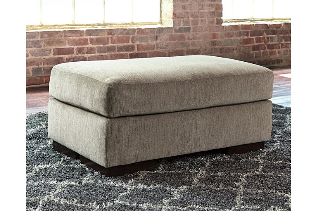 Entwine Ottoman by Ashley HomeStore, Gray, Polyester (100 %)