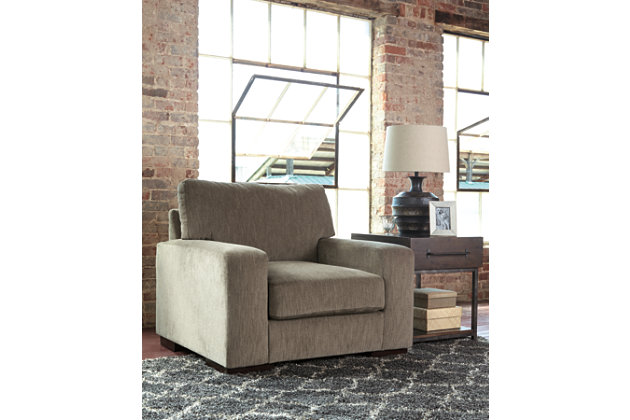 Entwine Chair by Ashley HomeStore, Gray, Polyester (100 %)