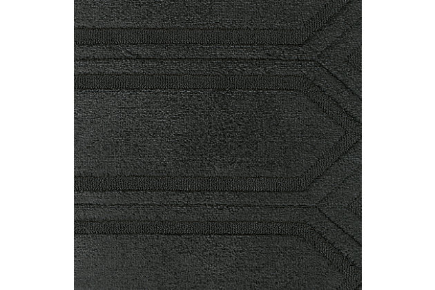 Entwine Graphite Accent Fabric Swatch