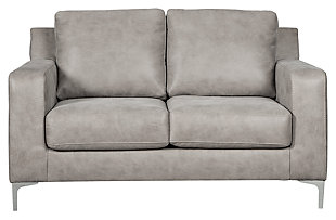 Ryler Loveseat, Steel, large