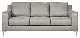 Ryler Sofa, Steel, large