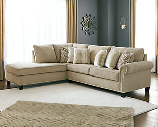Dovemont 2-Piece Sectional with Chaise, , rollover