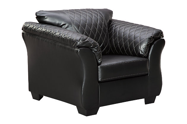 Betrillo Chair, Black, large