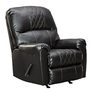Betrillo Recliner, Black, large