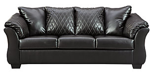 Betrillo Full Sofa Sleeper, Black, large