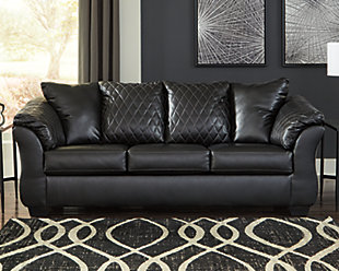 Betrillo Sofa, Black, rollover