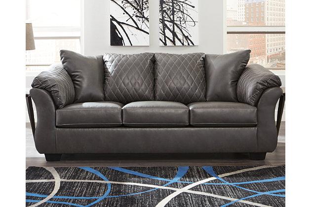 Betrillo Sofa, Gray, large