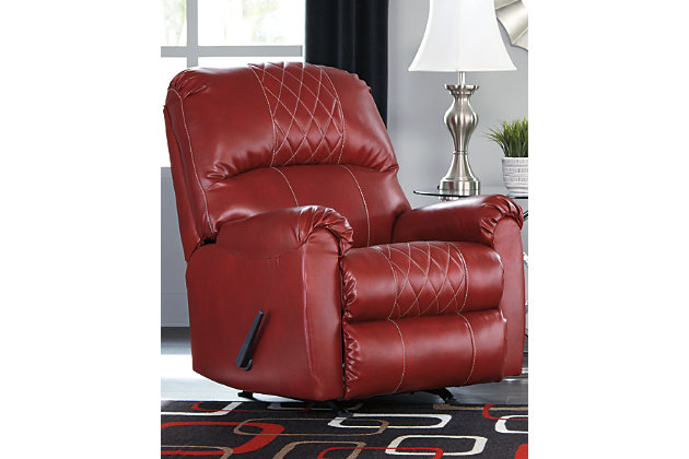 Betrillo Recliner, Salsa, large