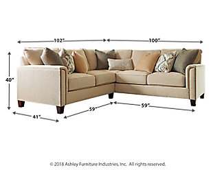 Kieman 2-Piece Sectional, , large