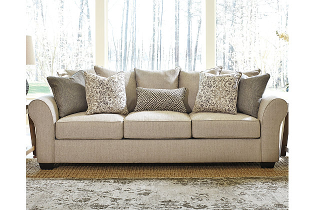 Baxley Sofa by Ashley HomeStore, Tan