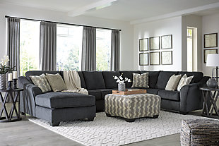 Eltmann 4-Piece Sectional with Ottoman, , rollover