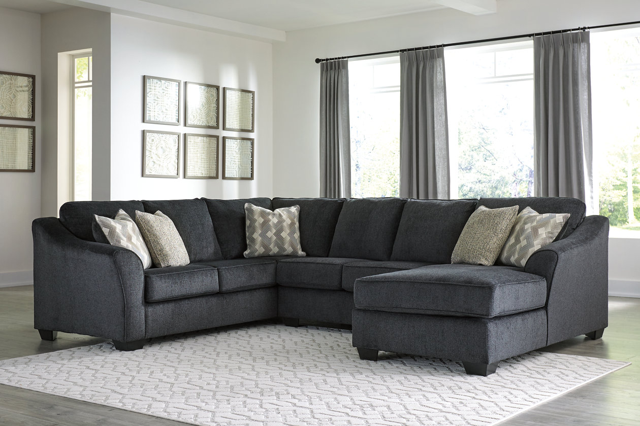 Eltmann 3-Piece Sectional with Chaise | Ashley Furniture ...