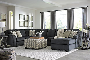 Eltmann 4-Piece Sectional with Chaise, , large