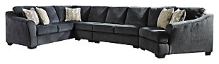 Eltmann 4-Piece Sectional with Cuddler, , large