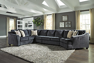 Eltmann 4-Piece Sectional with Cuddler, , rollover