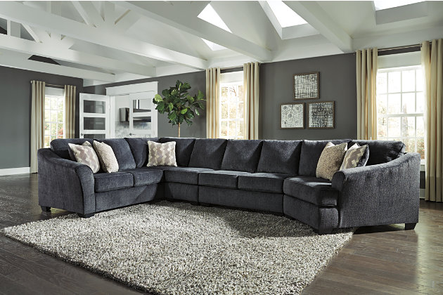 Eltmann 4-Piece Sectional with Cuddler | Ashley Furniture ...