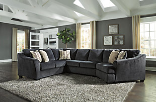 Eltmann 3-Piece Sectional with Cuddler, , rollover