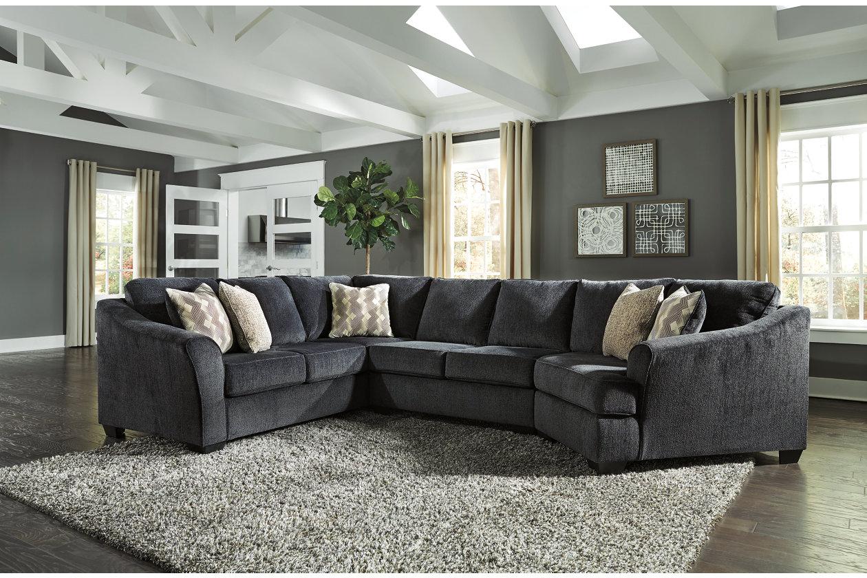 Pleasing Eltmann 3 Piece Sectional With Cuddler Ashley Furniture Uwap Interior Chair Design Uwaporg