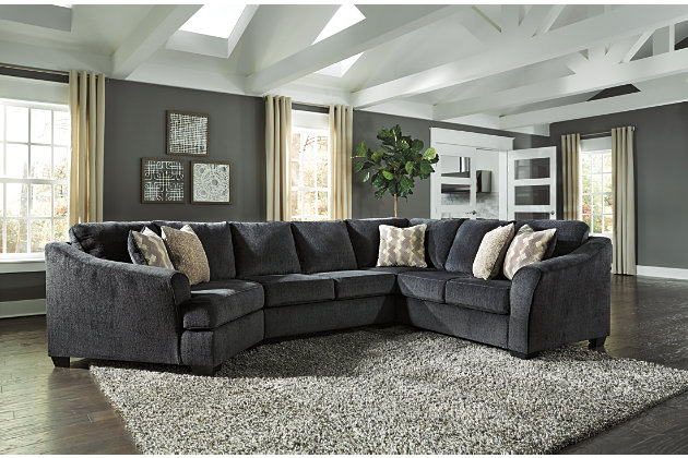 Eltmann 3-Piece Sectional with Cuddler, , large