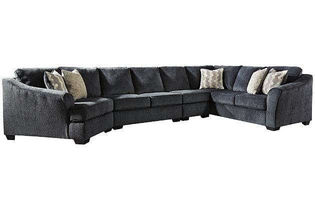 Astonishing Eltmann 4 Piece Sectional With Cuddler Ashley Furniture Creativecarmelina Interior Chair Design Creativecarmelinacom