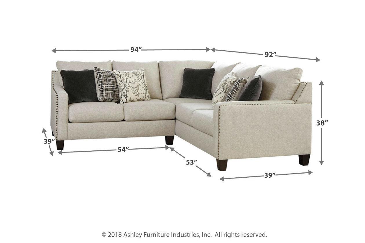 Magnificent Hallenberg 2 Piece Sectional Ashley Furniture Homestore Uwap Interior Chair Design Uwaporg