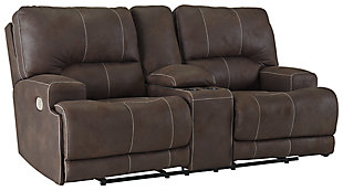 Kitching Power Reclining Loveseat, , large