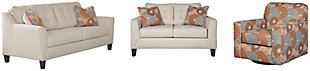 Benissa Sofa, Loveseat and Chair, , large