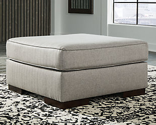 Marsing Nuvella Oversized Accent Ottoman, , rollover
