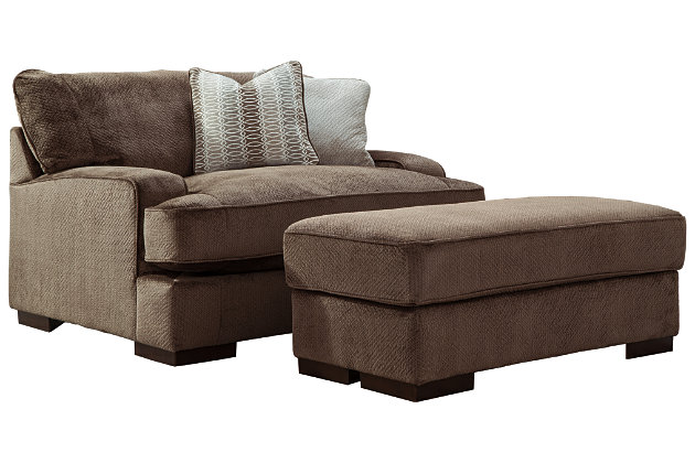 Fielding Sofa Oversized Chair and Ottoman, , large