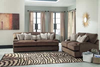 Loveseat Chocolate Sofa Product Photo 288