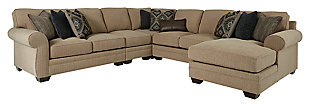 Amandine 5-Piece Sectional with Chaise, , large