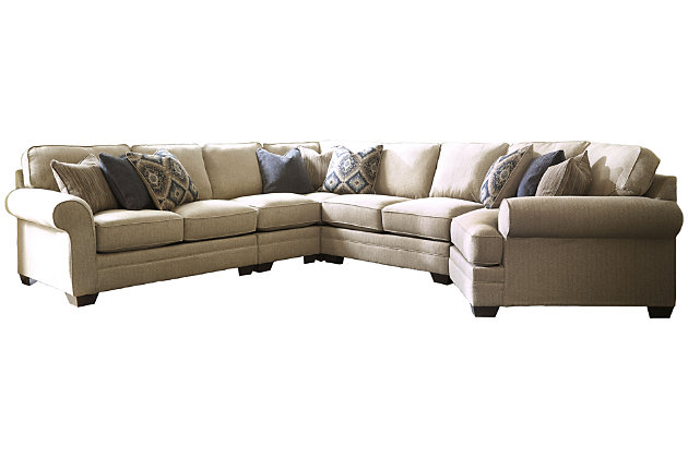 Amandine 5-Piece Sectional with Cuddler, , large