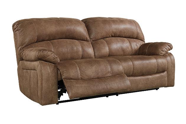 Zavier Power Reclining Sofa, Saddle, large