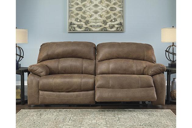 Zavier Power Reclining Sofa by Ashley HomeStore, Brown, P...