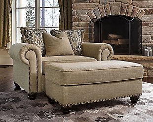 Ilena oversized chair ashley furniture homestore Extra large living room chairs
