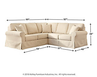 Shermyla 2-Piece Sectional, , large