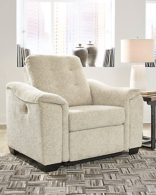 Beaconfield Oversized Power Recliner, , rollover