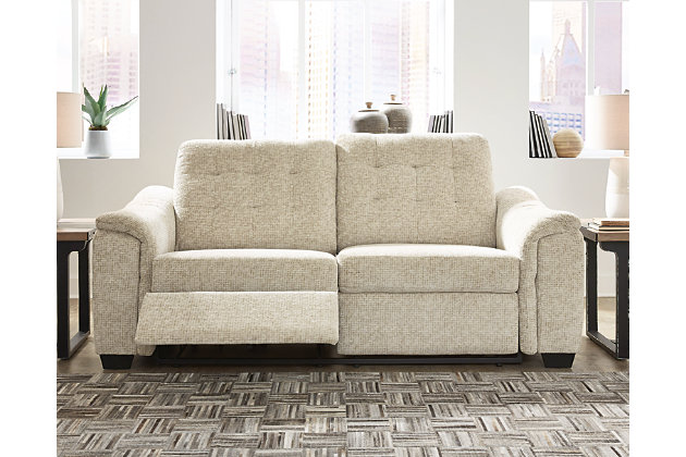 Beaconfield Power Reclining Sofa, , large
