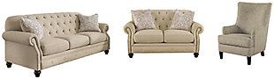 Kieran Sofa, Loveseat and Chair, , large