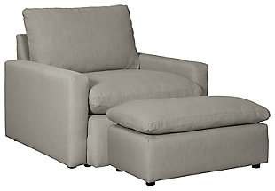 Nandero Chair and Ottoman, , large