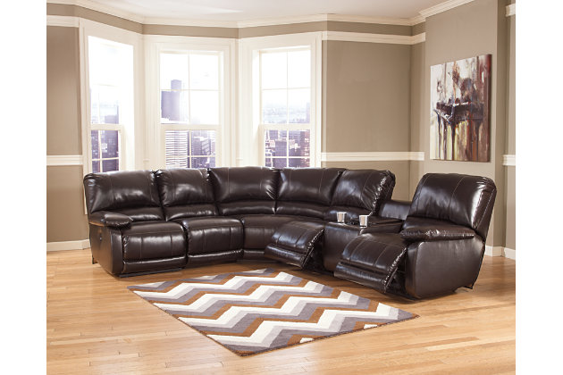 Fabric Sectional Sofa With Recliners MenzilperdeNet