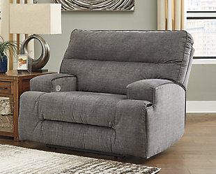 Coombs Oversized Power Recliner, , rollover