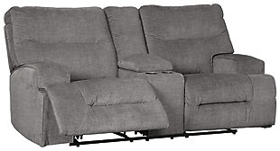 Coombs Reclining Loveseat with Console, , large