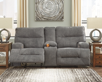 Coombs Power Reclining Loveseat with Console, , large
