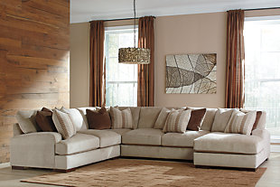 Arminio 4-Piece Sectional with Chaise, , rollover